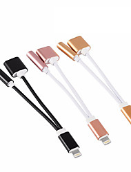 USB 2.0 Portable Adaptador Para Apple iPhone 15 cm Aluminio TPE