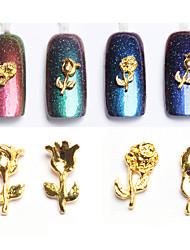 10pcs Manucure Dé oration strass Perles Maquillage cosmétique Nail Art Design