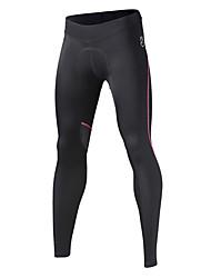 SPAKCT Calças Para Ciclismo Mulheres Moto Meia-calça Respirável Secagem Rápida 100% Poliéster Riscas Ciclismo/Moto CorridaPrimavera