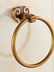 Classic Horn Style Solid Brass Bathroom Shelf Bathroom Towel Rings Bathroom Accessories
