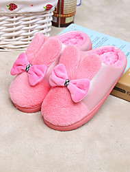 New Winter Products Cute Bow Slipper Warm Bottom