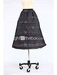 Slips Ball Gown Slip Knee-Length 1 Taffeta White Black Red