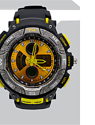 Masculino Relógio de Moda Relogio digital Quartzo Digital PU Banda Casual Preta