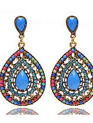 Bohemia water meter full Diamond Stud Earrings 0426# Earrings