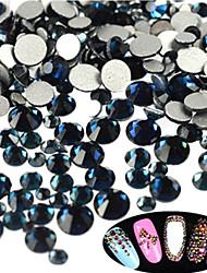 400-500pcs/bag Decoración de uñas Las perlas de diamantes de imitación maquillaje cosmético Dise?o de manicura