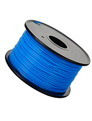 3D Printer Consumables Abs 1.75 / 3.0mm High Quality No Impurities Weight 1.3KG (According To Blue Shipping)