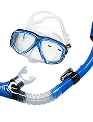 Diving Masks Snorkeling Packages Snorkels Swim Mask Goggle Snorkel Set Dry Top Diving / Snorkeling Glass silicone-SBART