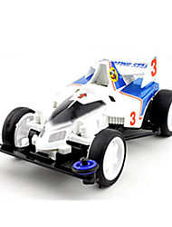 Race Car Toys Car Toys 1:12 Metal Plastic White Model & Building Toy