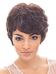 Short Naturally Prevailing Synthetic Wig