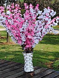 1 Une succursale Fibre Autres Fleur de Table Fleurs artificielles 15*15*63