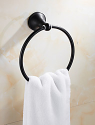 Towel Ring Oil Rubbed Bronze Wall Mounted  Brass Antique