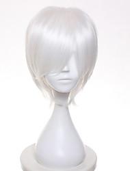 дешевый Боб Шорт белых цветов синтетических парики для черных женщин