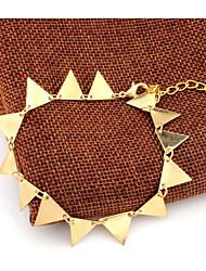 Femme Bracelet de cheville/Bracelet Alliage Amitié Mode Style Punk Forme d'Etoile Or Aux femmes Bijoux Soirée Quotidien Décontracté 1pc