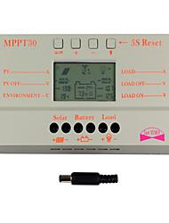 y-solar pantalla lcd 30a controlador de carga solar detector magnético 24v 12v m30