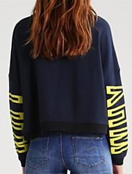 unterzeichnen aliexpress amazon heiß warum Buchstaben Pullover mit langen Ärmeln runder Ausschnitt Kaschmir-Pullover T-Shirt gedruckt