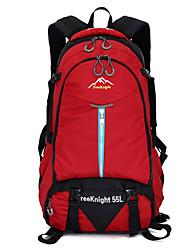 55 L Rucksack Camping & Wandern Klettern Legere Sport Regendicht Staubdicht Multifunktions Atmungsaktiv