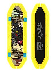 Mini Skateboards & Bikes Leisure Hobby Skate ABS Plastic Yellow For Boys For Girls