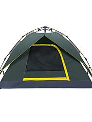Makino 3-4 человека Световой тент Двойная Автоматический тент Однокомнатная Палатка 2000-3000 мм ОксфордВодонепроницаемый
