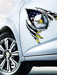 American Eagle Reflective Tape Car Stickers Crack Fashion Personality Golf 7 Car Styling and Decals Motorcycle Stickers