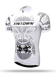 XINTOWN® Men's Short Sleeve Sport Team Cycling Jersey Sleeve Bike Bicycle Top Short Sleeve Clothing