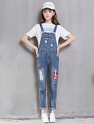 assinar nenhuma nova flexibilização da idade de vento faculdade tan imprimir grande bolso macacão jeans feminina