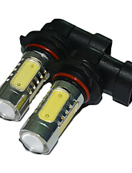2PCS 5 Side LEDs Car Fog Bulb 9005 LED Bulb
