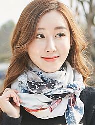 New Korean Version Of Lattice Pattern Female Scarf