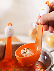 1 Pças. Escumadeira For para ovos Para utensílios de cozinha Plástico Ecológico Gadget de Cozinha Criativa termo-isolante Novidades