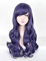 Cosplay Wigs Love Live Purple Long Anime Cosplay Wigs 70 CM Heat Resistant Fiber Female