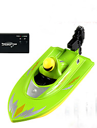 Remote Control Ship Submarine HuanQi Racing RC Boat Brush Electric 4 - Blue