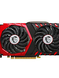 MSI Video Graphics Card GTX1050Ti GTX 1050 Ti GAMING X 4G 1290-1493MHz/7108MHz4 Гб/128 бит GDDR5
