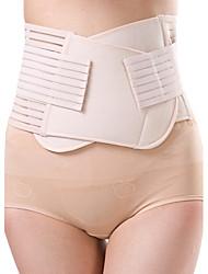 Women's Sexy Maternity Postpartum Slimming Underwear Shaping Corset Girdle Elasticity Belt Waist Nylon Beige