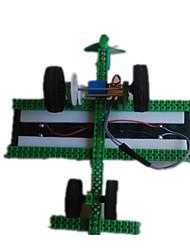 Brinquedos Para meninos Brinquedos de Descoberta Brinquedos a Energia Solar Carro Metal Plástico Verde