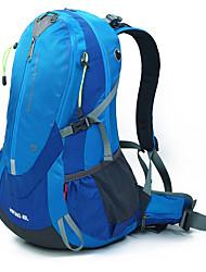 40 L Rucksack Camping & Wandern Draußen Leistung Wasserdicht Regendicht Wasserdichter Verschluß Staubdicht tragbar Gelb Grün Rot Blau