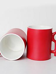 Minimalisme Articles pour boire, 400 ml Sensible à la chaleur couleur changeante Motif géométrique simple Céramique Lait CaféVerres &
