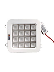 ZDM 16W High Power LED (12Red 4Blue)Full Wavelength Plant Growth Lamp LED Ceiling Lamp (AC85-265V)
