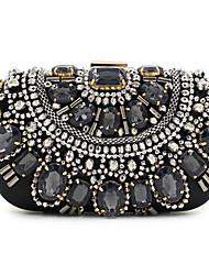 Women Polyester Silk Formal Event/Party Wedding Evening Bag Handbag Clutch
