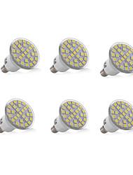 3W E14 Luci da arredo 29 SMD 5050 200-300 lm Bianco caldo Luce fredda Decorativo AC 220-240 V 6 pezzi