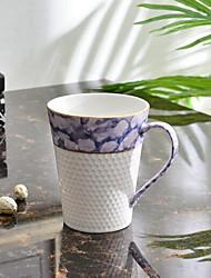 Minimalism Colored Drinkware, 300 ml Decoration Ceramic Tea Coffee Tea Cup
