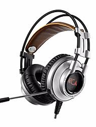 XIBERIA K9U 7.1 Surround Stereo USB Gaming Headphone With Microphone PC Gamer LED Breath Light Bandhead Game Headset for LOL CF