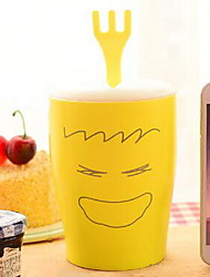 Cartoon Drinkware, 400 ml Decoration Ceramic Juice Milk Daily Drinkware