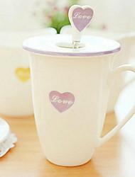 Minimalismo Artigos para Bebida, 400 ml Simples padrão geométrico Cerâmica chá Café Copos