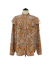 Han Guoguan network on both sides wear new spring wild Western style floral shirt