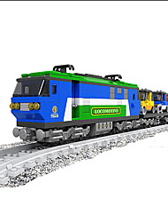Stress Relievers For Gift  Building Blocks Model & Building Toy Train ABS 5 to 7 Years 8 to 13 Years Blue Toys