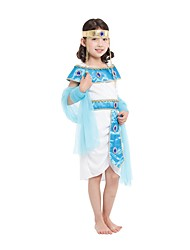 Halloween Costumes  Girl Ancient Egypt Egyptian Princess Cleopatra Princess Costume for Children Kids Cosplay Clothing