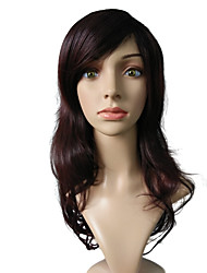 Brown Wig Capless Synthetic Fiber Heat Wig Hairstyle Costume Cosplay Wigs For Women