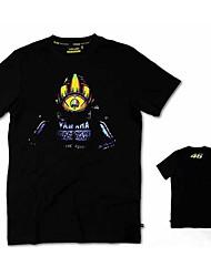 motogp46 Motorradkleidung mit kurzen Ärmeln Baumwolle T-Shirt atmungsaktiv Sommer unisex