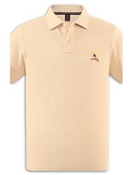 U&Shark Men's Fine Cotton Short Sleeve Polo Shirt/polo-038