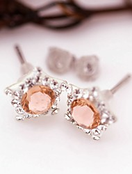 Stud Earrings Crystal Crystal Austria Crystal Jewelry For Daily Casual