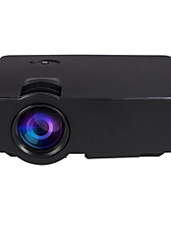 E08 LED Home Projector WVGA (800x480) Supports 1080P HD 3D Projector